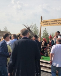 В Москве начал работу IV Фестиваль Русского географического общества «Открываем Россию заново. Вместе»