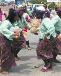Танцевальный коллектив «Sitsope» (Тоголезская Республика)