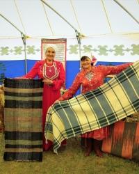 В Башкортостане лучшие мастера собрались на фестиваль башкирского паласа