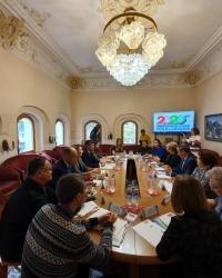 В Москве состоялось заседание круглого стола. VI Всемирная Фольклориада - 300 дней до старта
